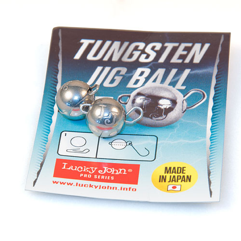 картинка Груз-головки LJ Pro Series TUNGSTEN JIG BALL вольф. разбор. 5гр. 2шт.