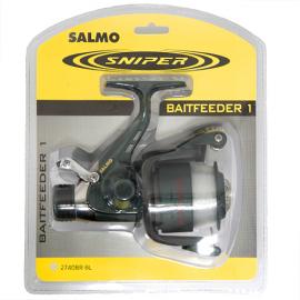Картинка Катушка безынерционная Salmo Sniper BAITFEEDER 1 40BR блистер