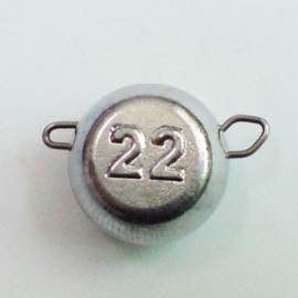 Груз-головка ЧЕБУРАШКА разборная 022г