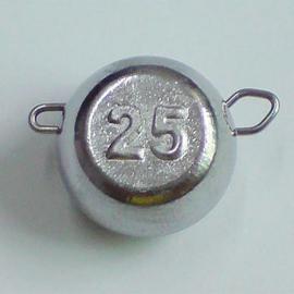 Груз-головка ЧЕБУРАШКА разборная 025г