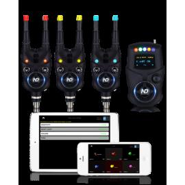 Картинка Набор электронных сигнализаторов поклевки с пейджером New Direction K9/R9 (3+1)