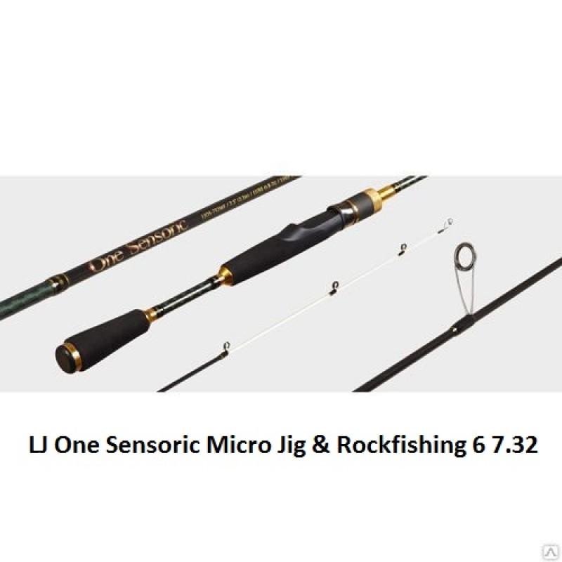 картинка Спиннинг Lucky John One Sensoric MICRO JIG & ROCKFISHING 6 7.32