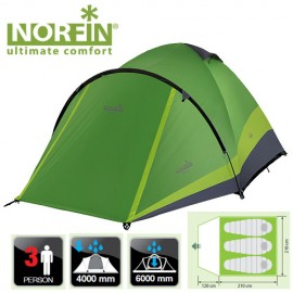 Картинка Палатка 3-х местная Norfin PERCH 3 NF