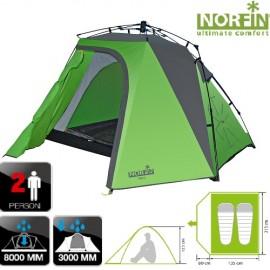 Палатка автоматическая 2-х местная Norfin PIKE 2 NF