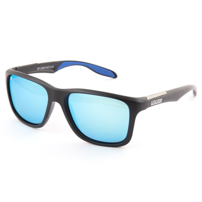 картинка Очки поляризационные Norfin линзы голубые REVO 03