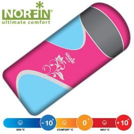 Мешок-одеяло спальный Norfin LADY 350 NFL