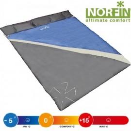 Мешок-одеяло спальный Norfin SCANDIC COMFORT  DOUBLE 300 NFL