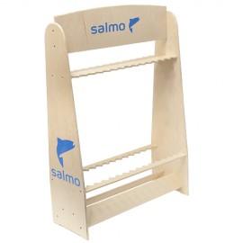 Картинка Стойка деревянная Salmo под удилища 30шт.