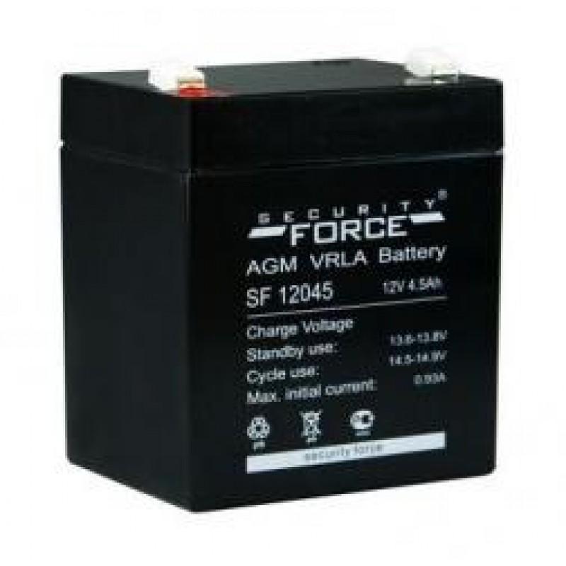 картинка Аккумулятор Security Force 4,5 Ач 12 В для эхолотов