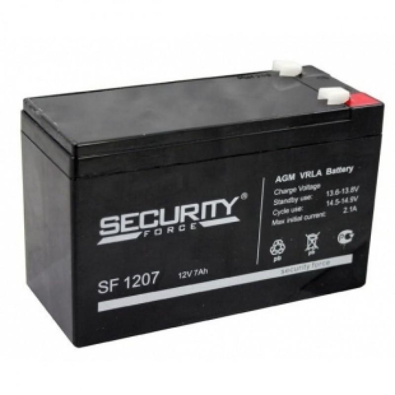 картинка Аккумулятор Security Force 7,2 Ач 12 В для эхолотов