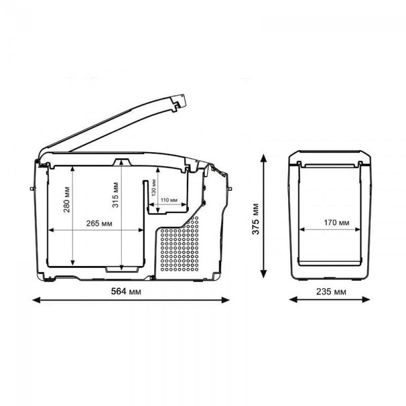 картинка Автохолодильник INDEL B TB15