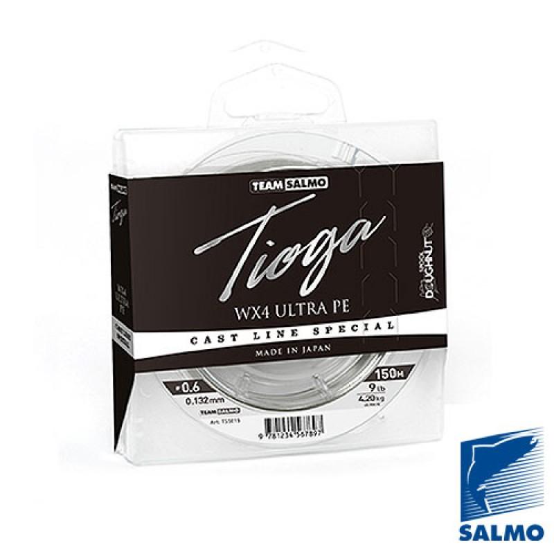 картинка Леска плетёная Team Salmo TIOGA Silver Grey 150м