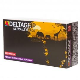 Картинка Перчатки одноразовые Gward Deltagrip Ultra LS Black нитрил