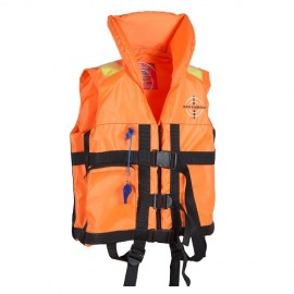 Картинка Жилет спасательный детский с воротником DOLPHIN до 30кг р.36-40 оранжевый