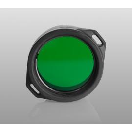 Картинка Зелёный фильтр Armytek для фонарей Predator/Viking