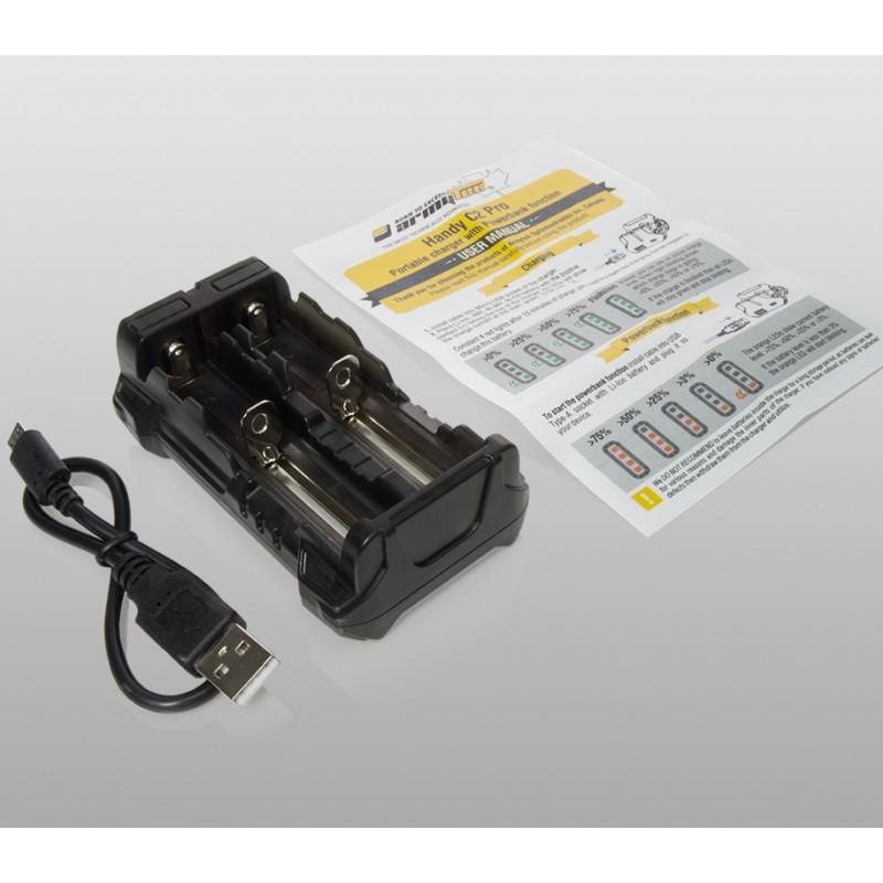 картинка Зарядное устройство Armytek Handy C2 Pro с функцией Powerbank