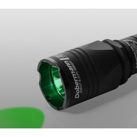 Картинка Тактический фонарь Armytek Dobermann (зелёный свет)