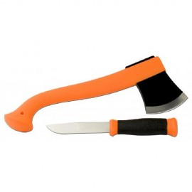 Картинка Набор Morakniv Outdoor Kit Orange нож Mora 2000 + топор (12096)
