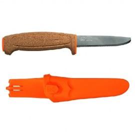Картинка Нож Morakniv Floating Serrated Knife, нержавеющая сталь, пробка