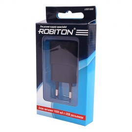 Картинка Адаптер Robiton USB1000 1000mA
