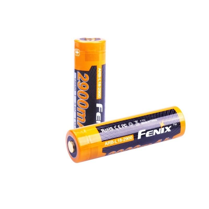 картинка Аккумулятор 18650 Fenix ARB-L18 (2900mAh)