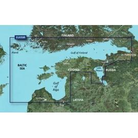 Картинка Карта Garmin Bluechart G3 Балтийское море, Рижский залив